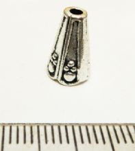 'Glory' cone beadcap x 6. 8mm x 12mm high